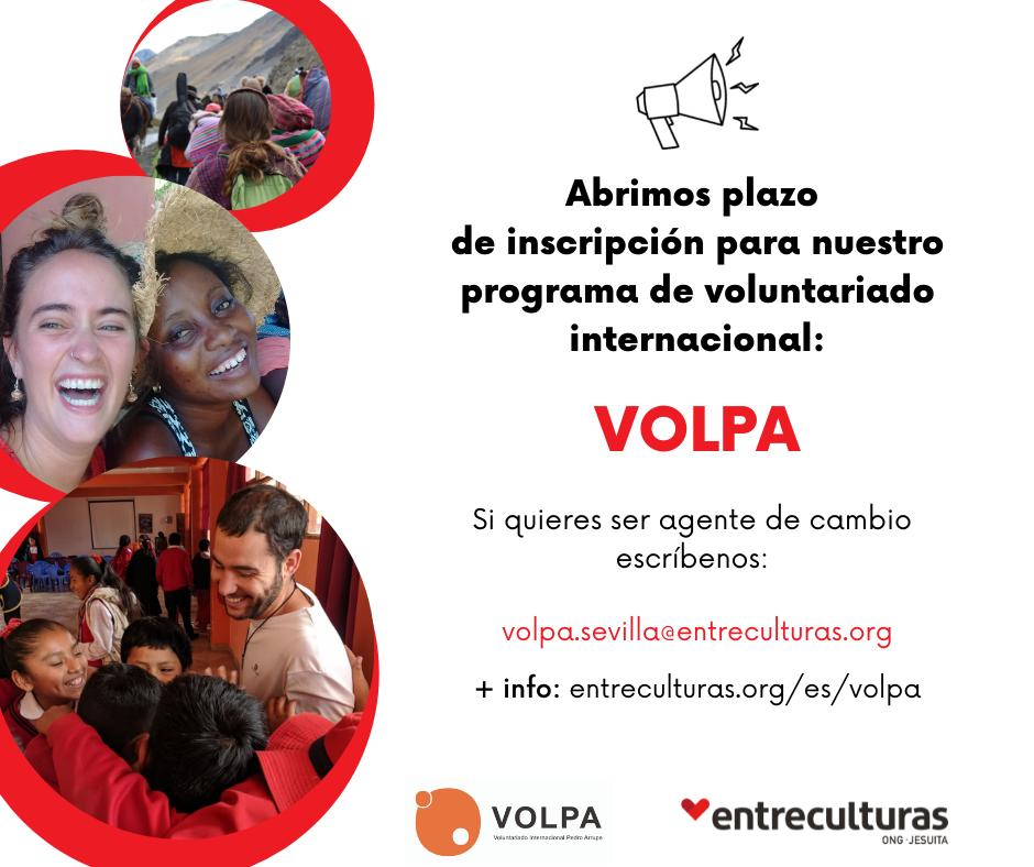 Programa de voluntariado internacional de Entreculturas VOLPA