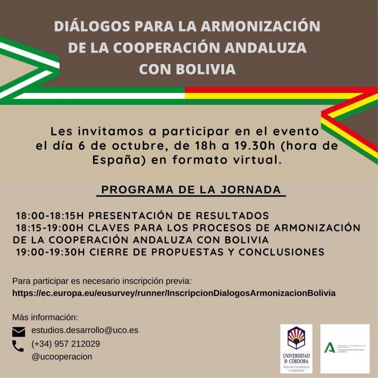 cooperación andaluza con Bolivia