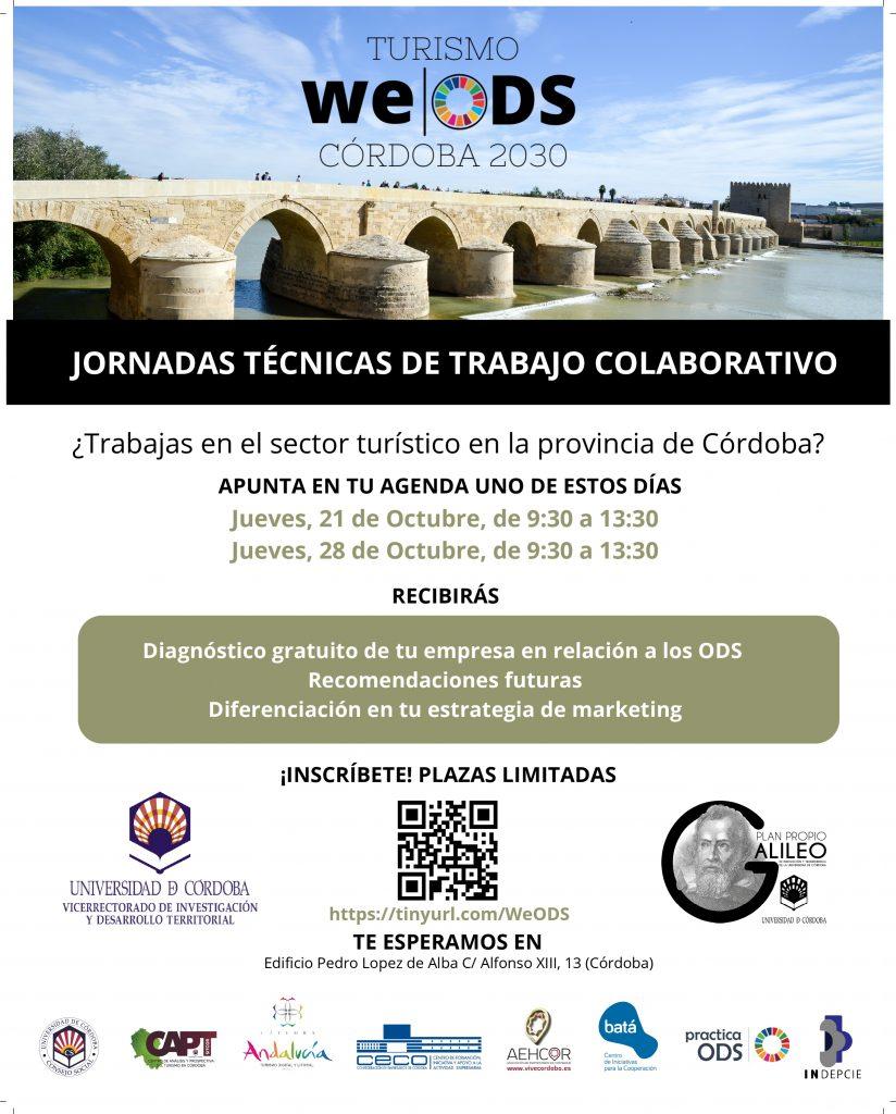 Cartel Jornadas Colaborativas Córdoba