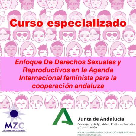 Cartel formación especializada Mujeres en Zona de Conflicto