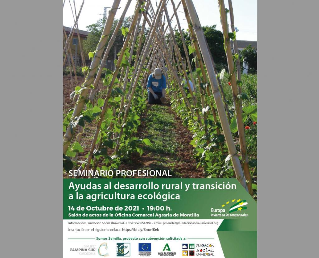Cartel Seminario Agricultura Ecológica